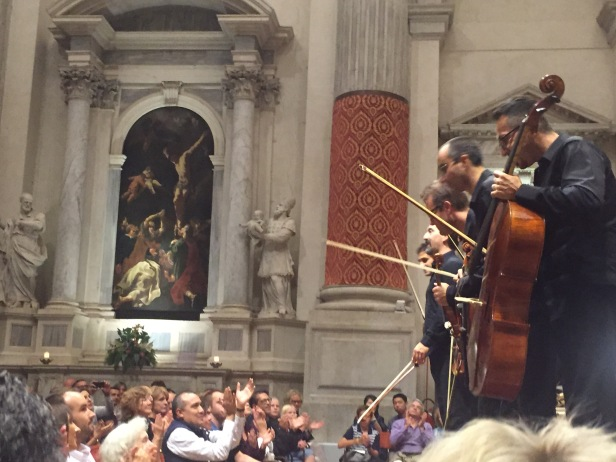 A concert in Venice