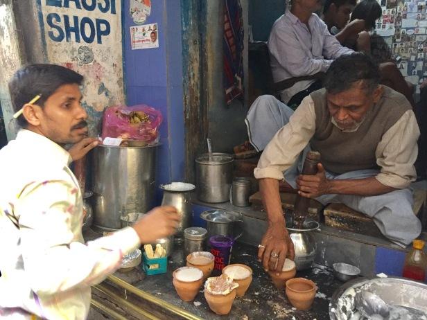 The Blue Lassi,Varanasi