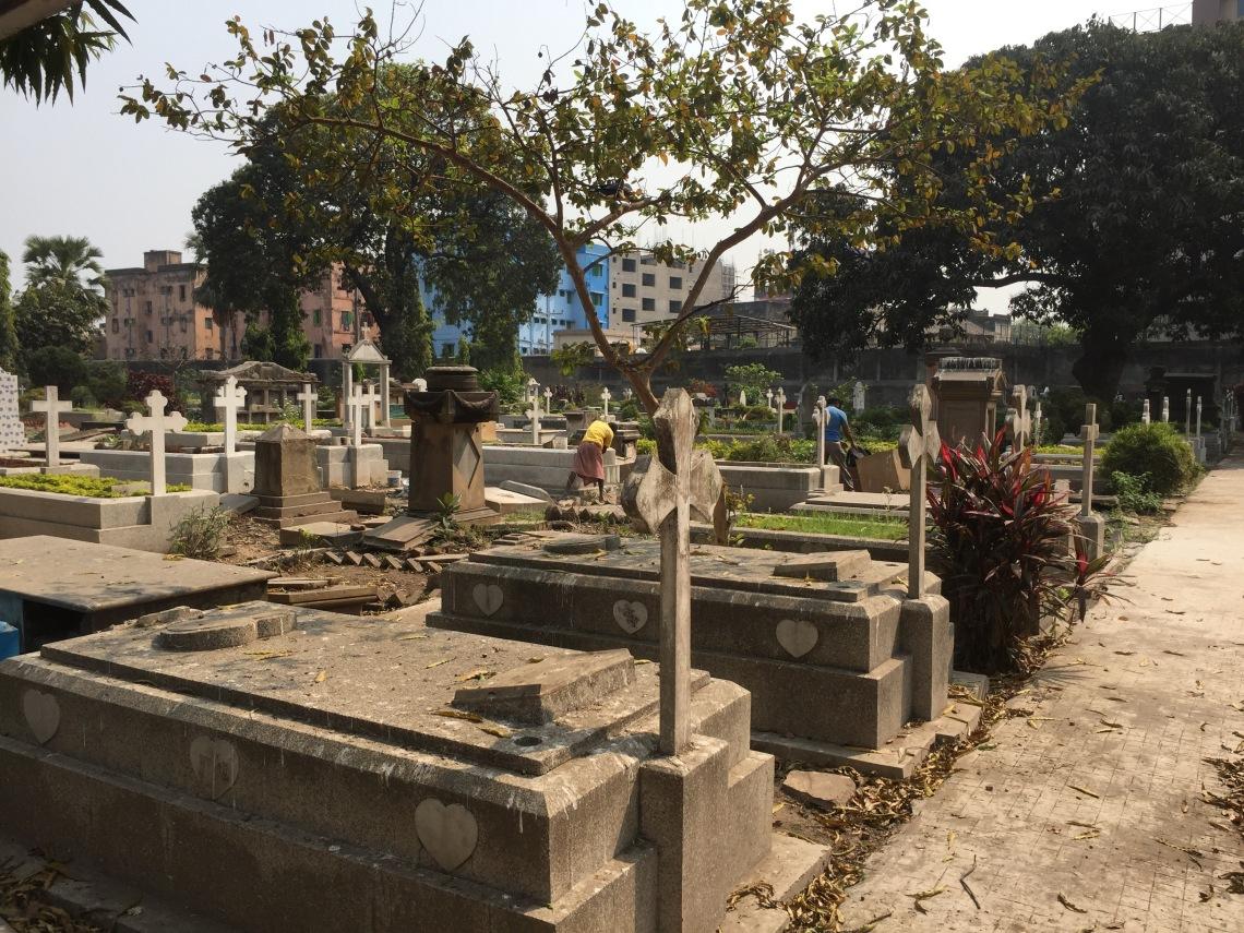 A British graveyard in India