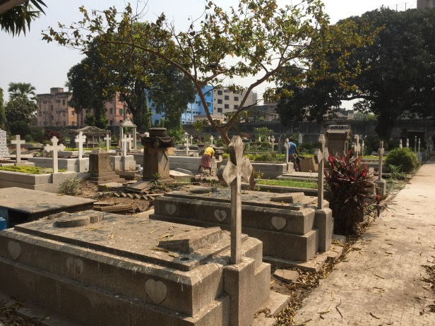 A British graveyard in India