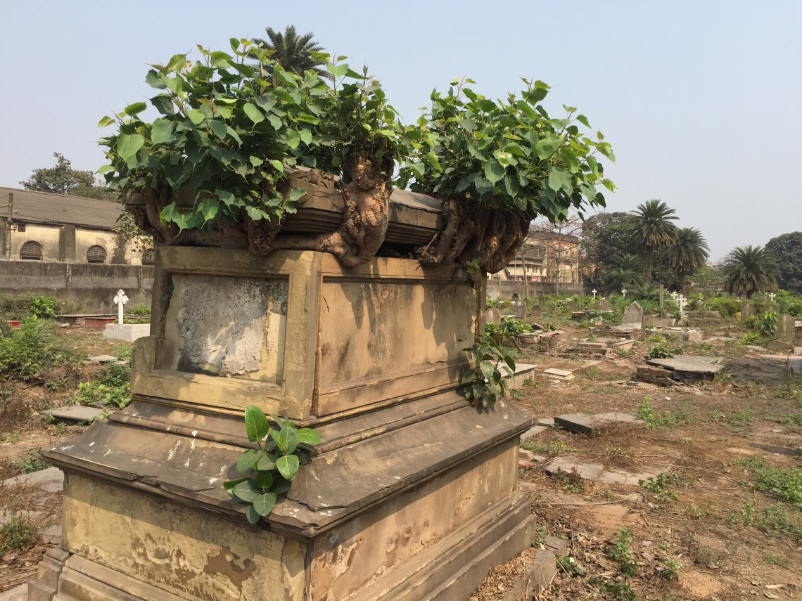 A British grave in India