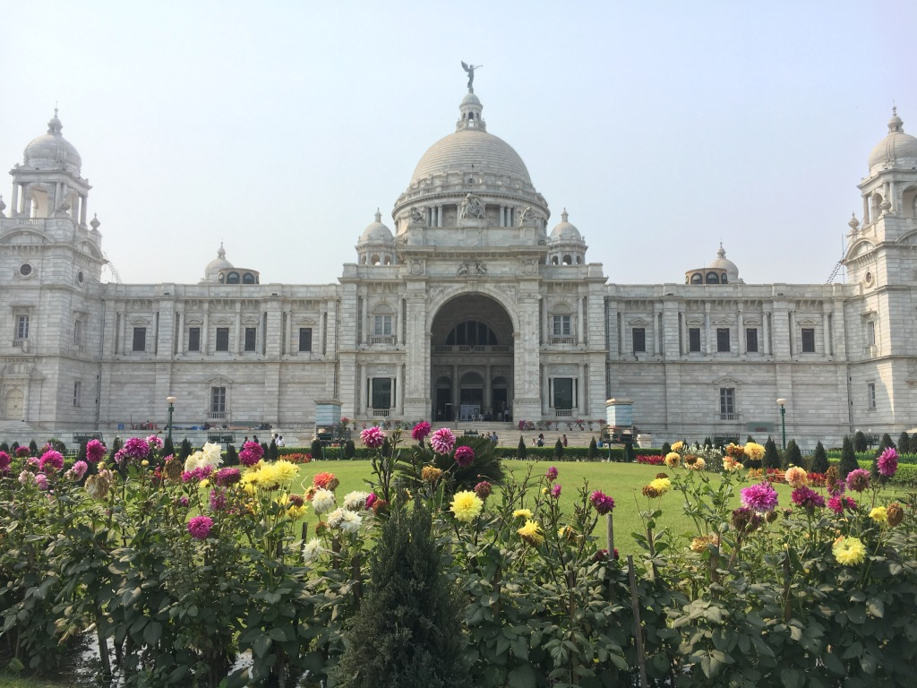 The Albert memorial in Kolkata