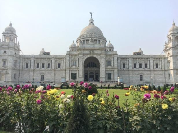 The Albert memorial in Kolkata