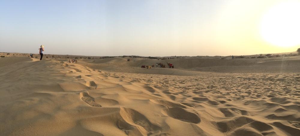 Sand dunes, Thar desert