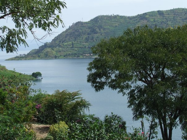 Rwanda, Gisenyi, Lake Kivu