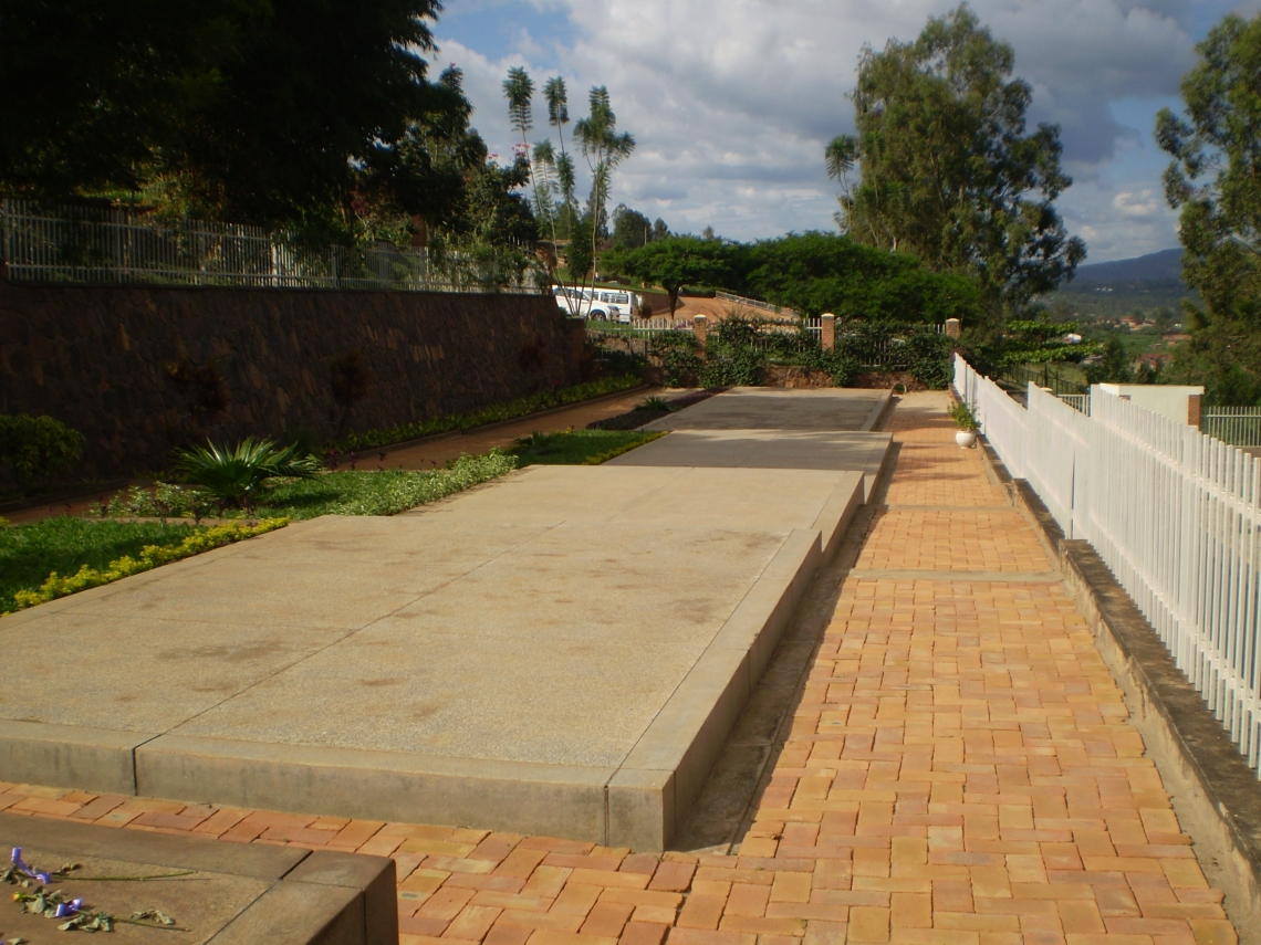 Kigali Genocide Memorial Centre, Rwanda, graves