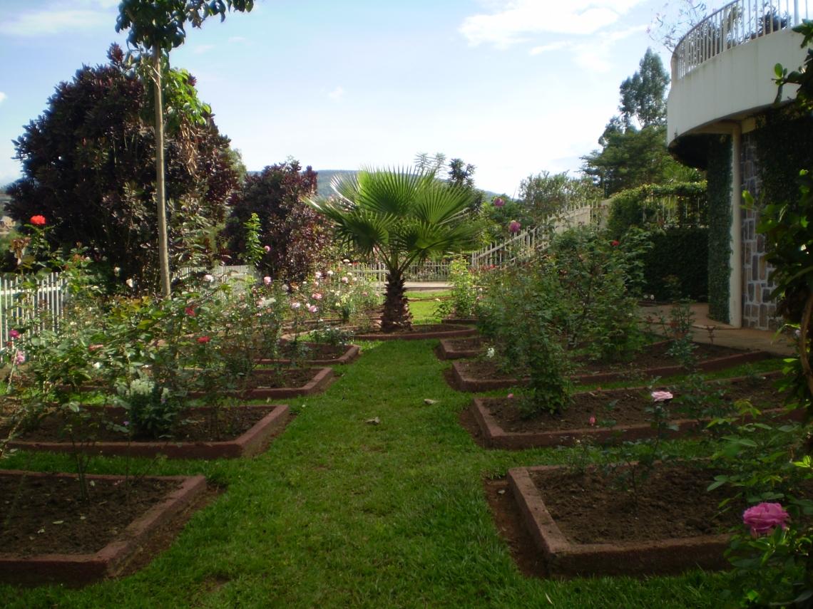 Gardens, Kigali Genocide Memorial, Rwanda
