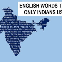 English words that only Indians use