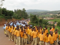 Education Day at the Kigali Genocide Memorial