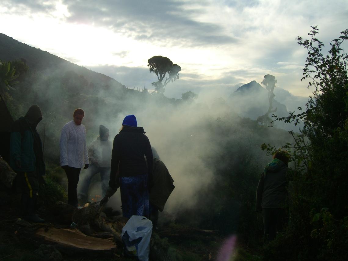 Mount Mikeno,Climbing Karisimbi