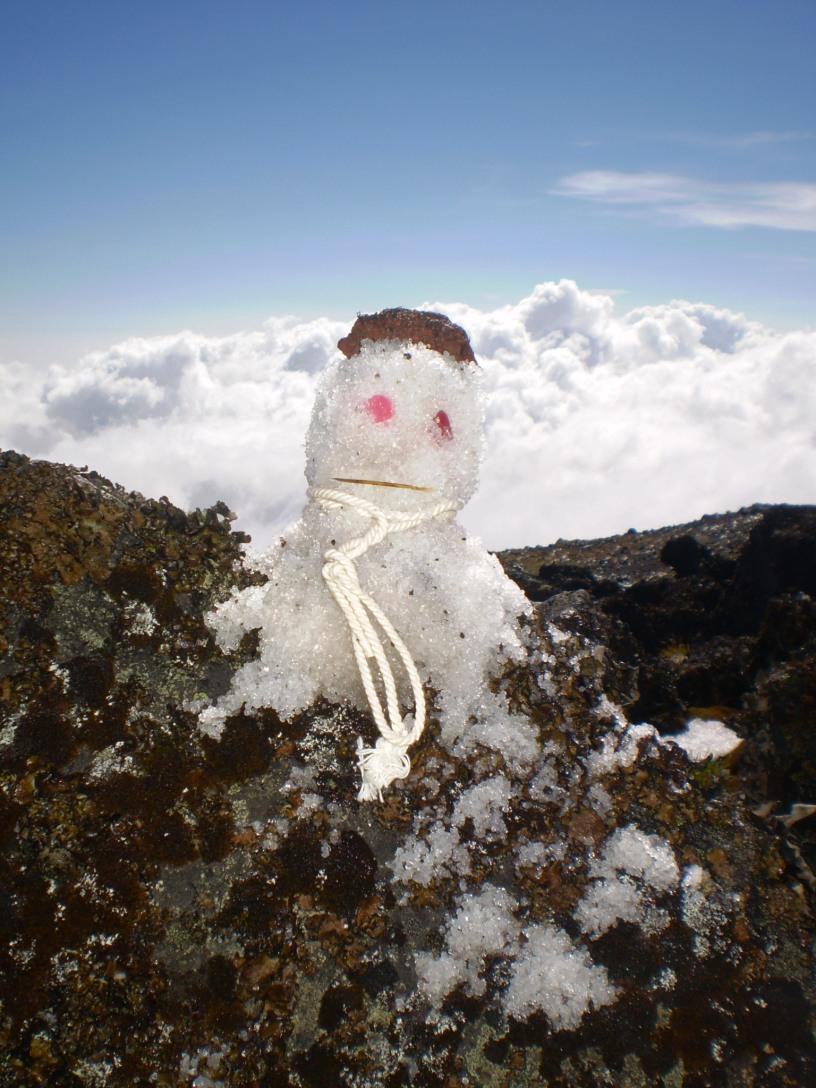 Climbing Karisimbi