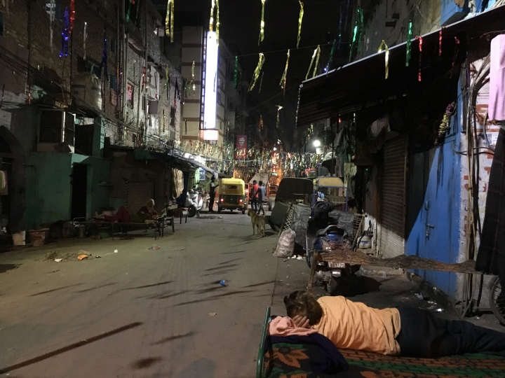 Paharganj streetcar night