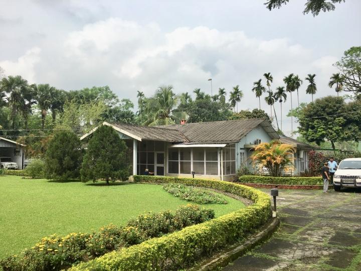 Tea estate bungalow in Assam