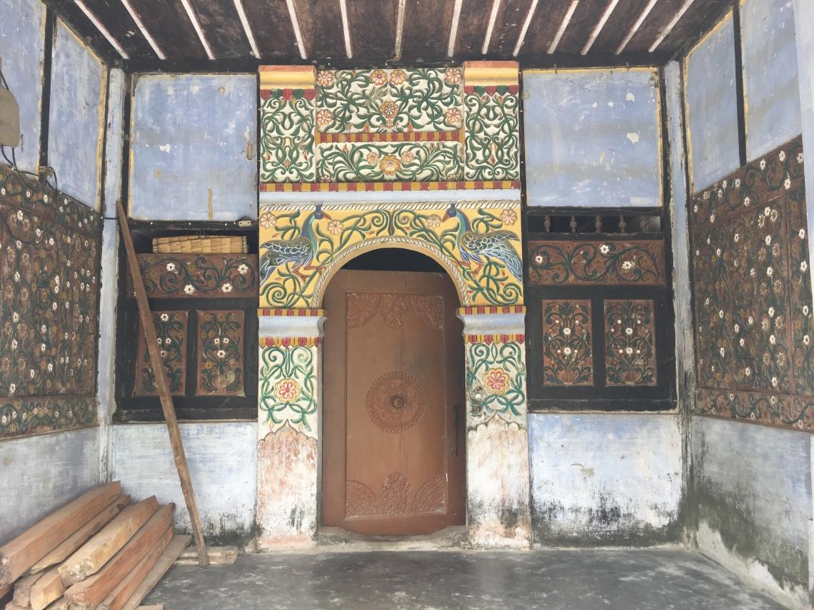 Monastery at Uttar Kamalabari, Majuli, Assam, heyloons