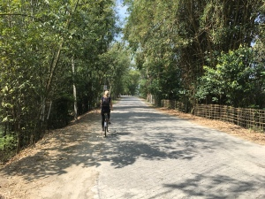 Cycling in Majuli, Assam, India, heyloons