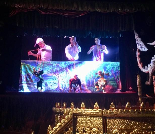 Myanmar Marionettes