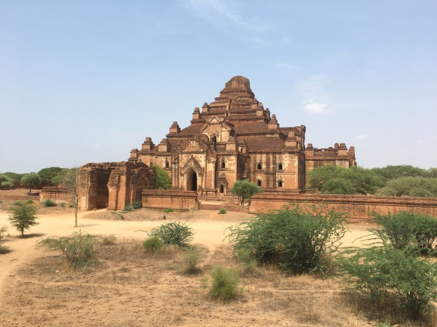 A temple in Bagan, Myanmar