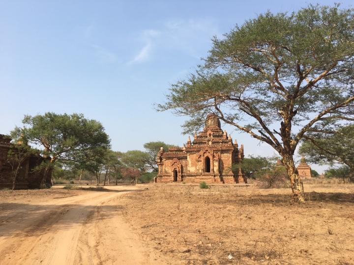 A temple in Bagan, Myanmar