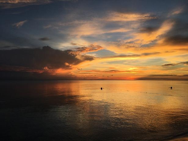 Sunset at Selingan Island, Sabah, Borneo